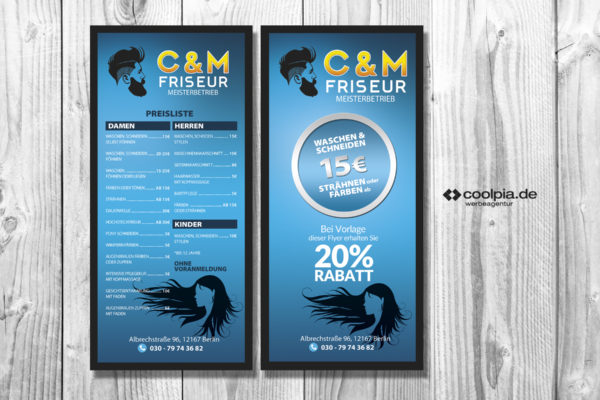 Flyer Design und Druck
