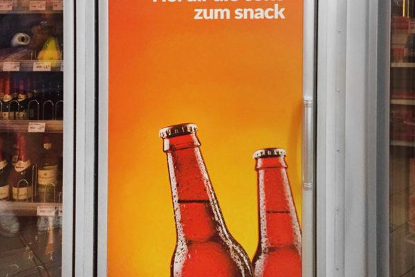 Aufkleber Kühlschrank